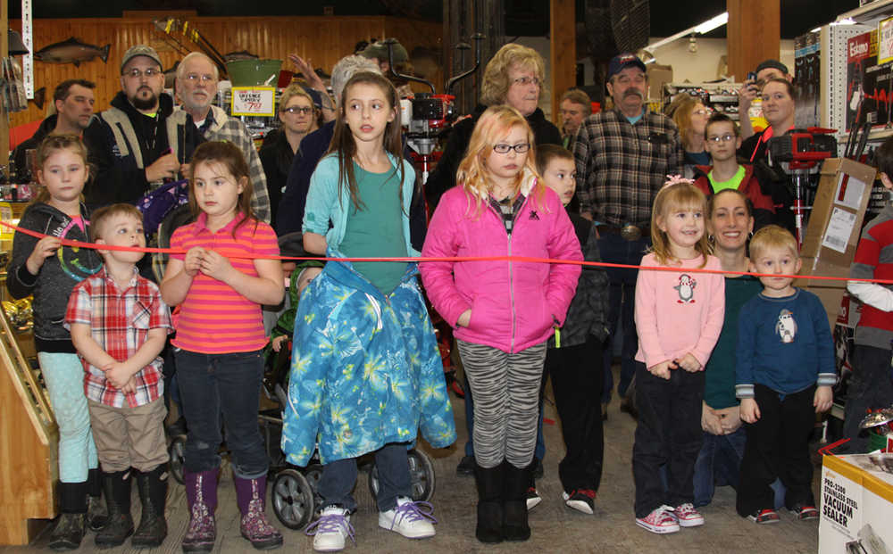 Big fish for little kids in Annual Ice Fishing Derby