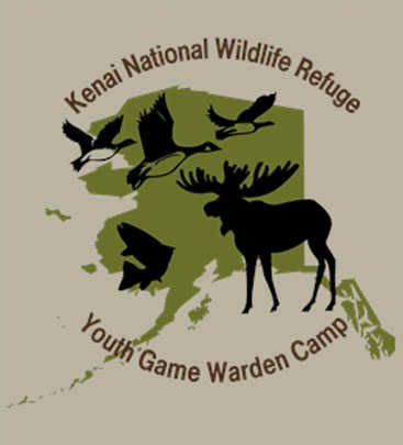 Kids who participate in the first-ever Youth Game Warden Camp will receive a t-shirt with this cool logo.