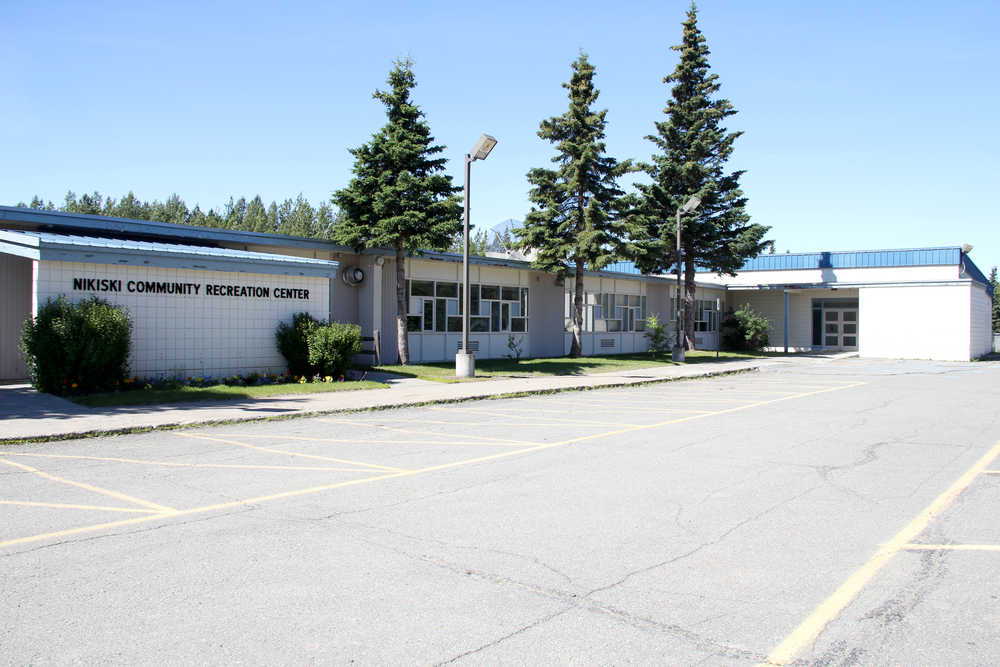 The Kenai Peninsula Borough is re-evaluating its plan to demolish a portion of the Nikiski Community Recreation Center, which has sat vacant for most of the past 10 years. Photo by Kaylee Osowski/Peninsula Clarion