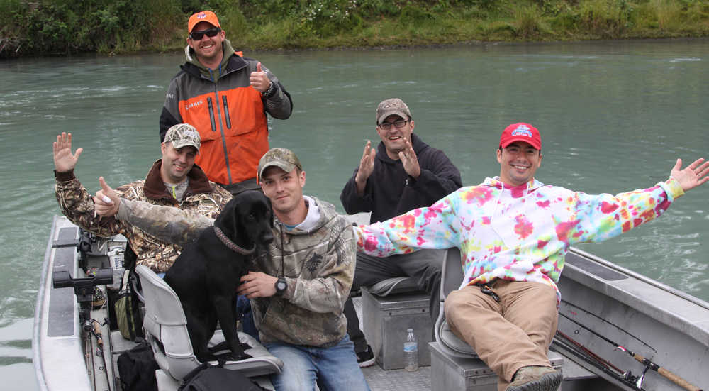 Wounded Heroes enjoy a weekend of fishing & fun on the Kenai River