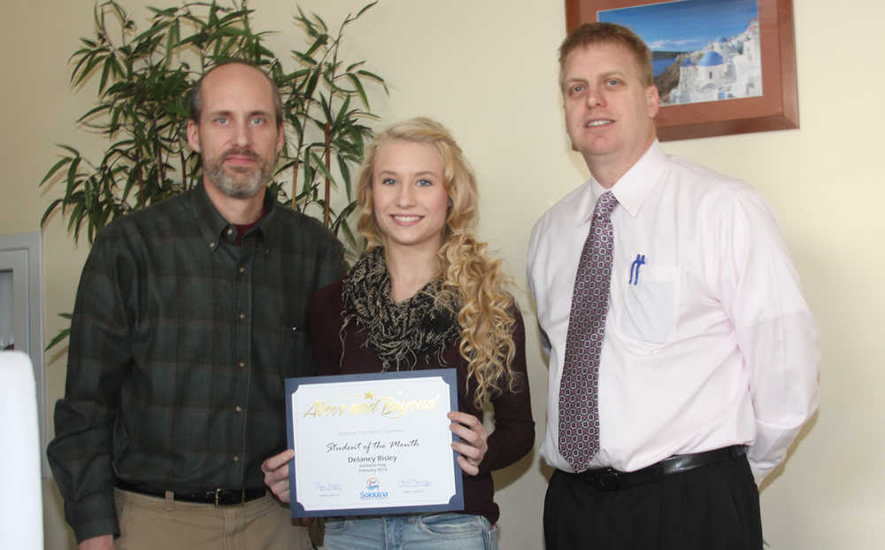 Soldotna Chamber honors Students of the Month & calls for scholarship applicants