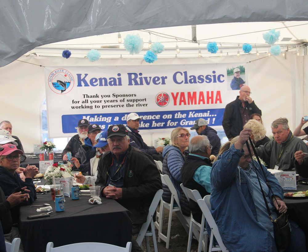 Warming up for the Silver Anniversary of the Kenai River Classic