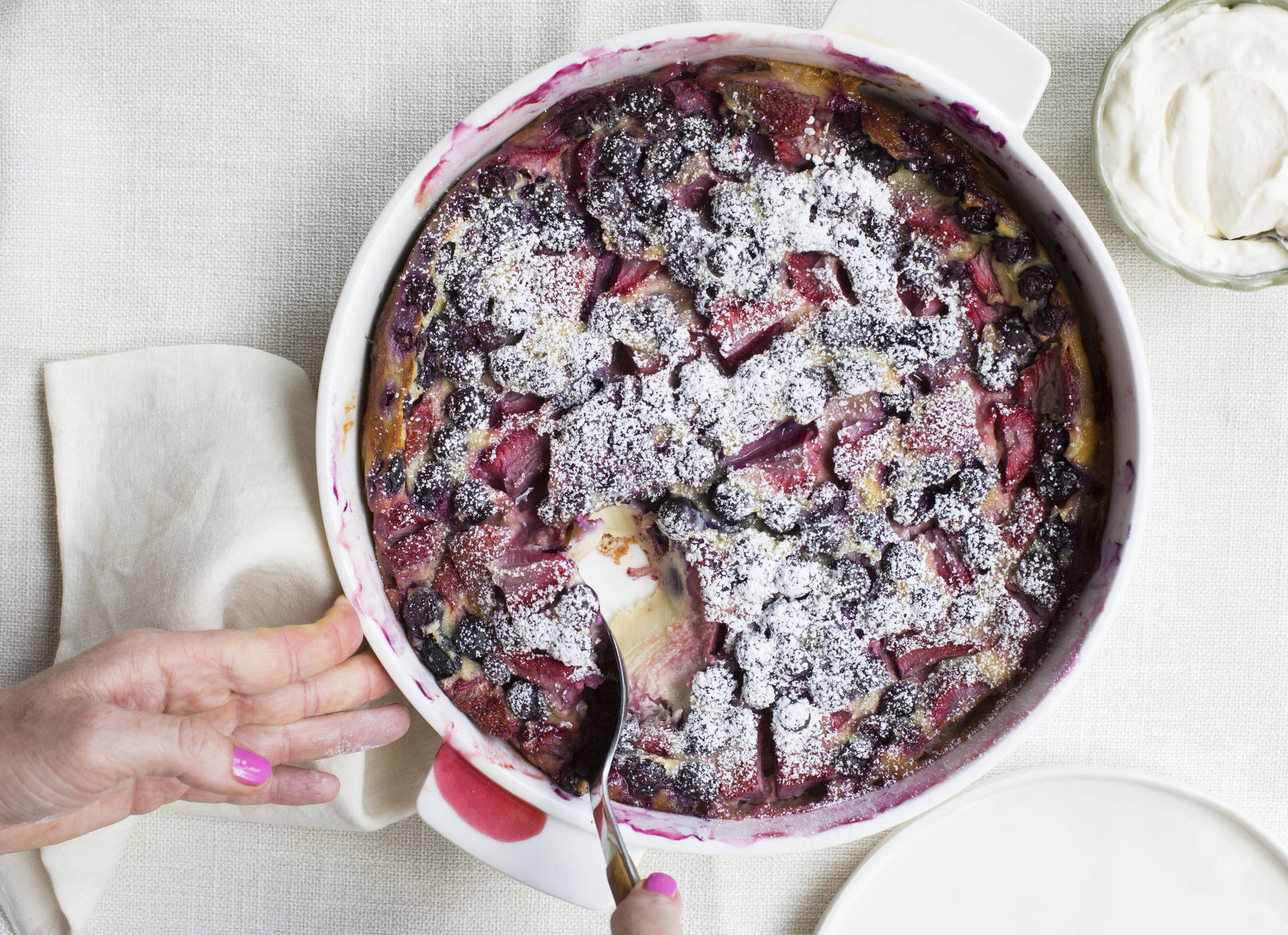 COOKING ON DEADLINE: Summer Berry Clafoutis