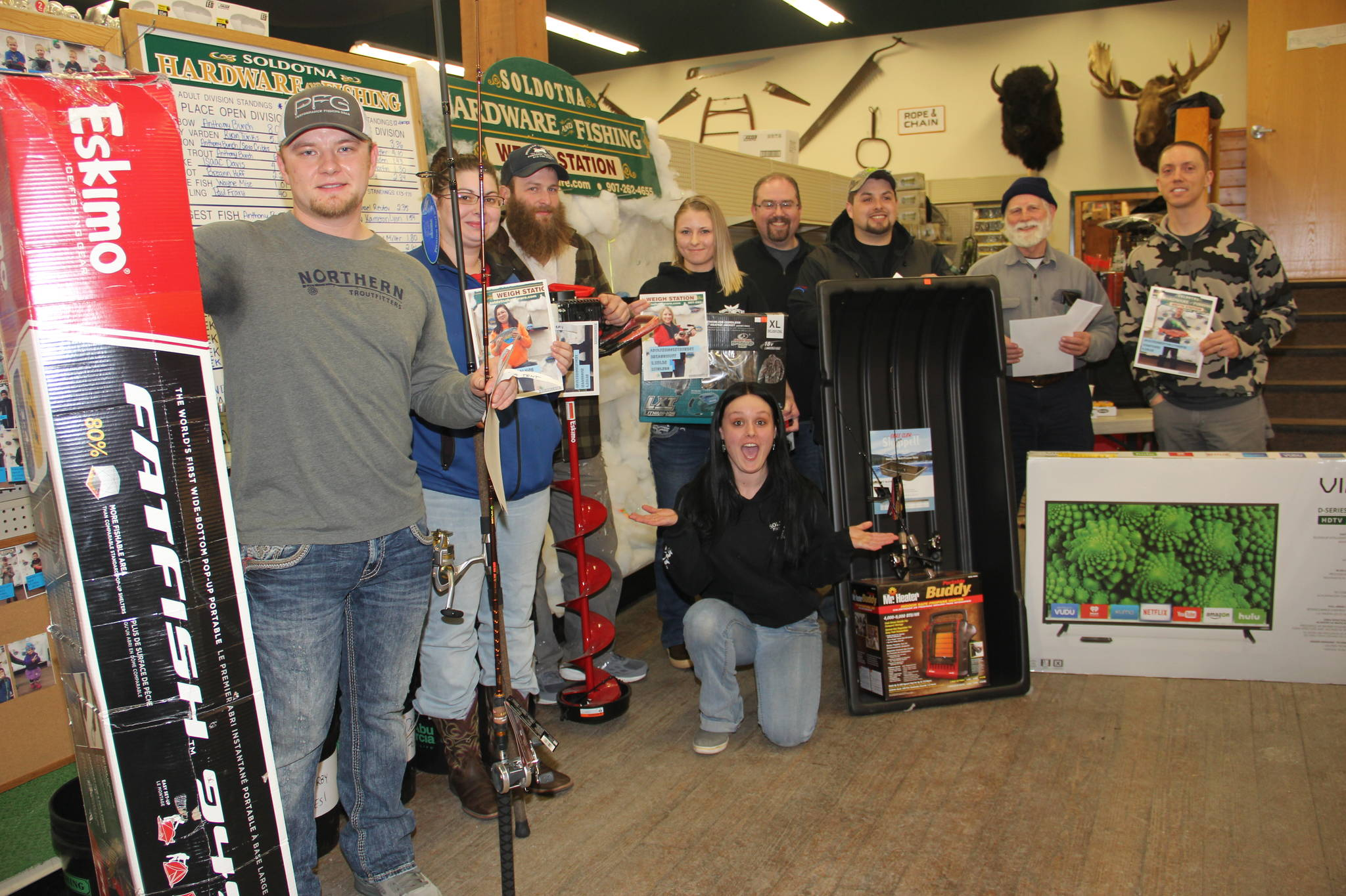 The icing on the Ice Fishing Derby
