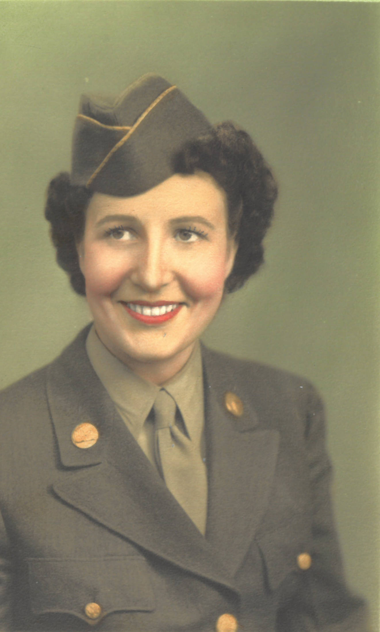 Wilma Gregory in uniform. (Photo provided)
