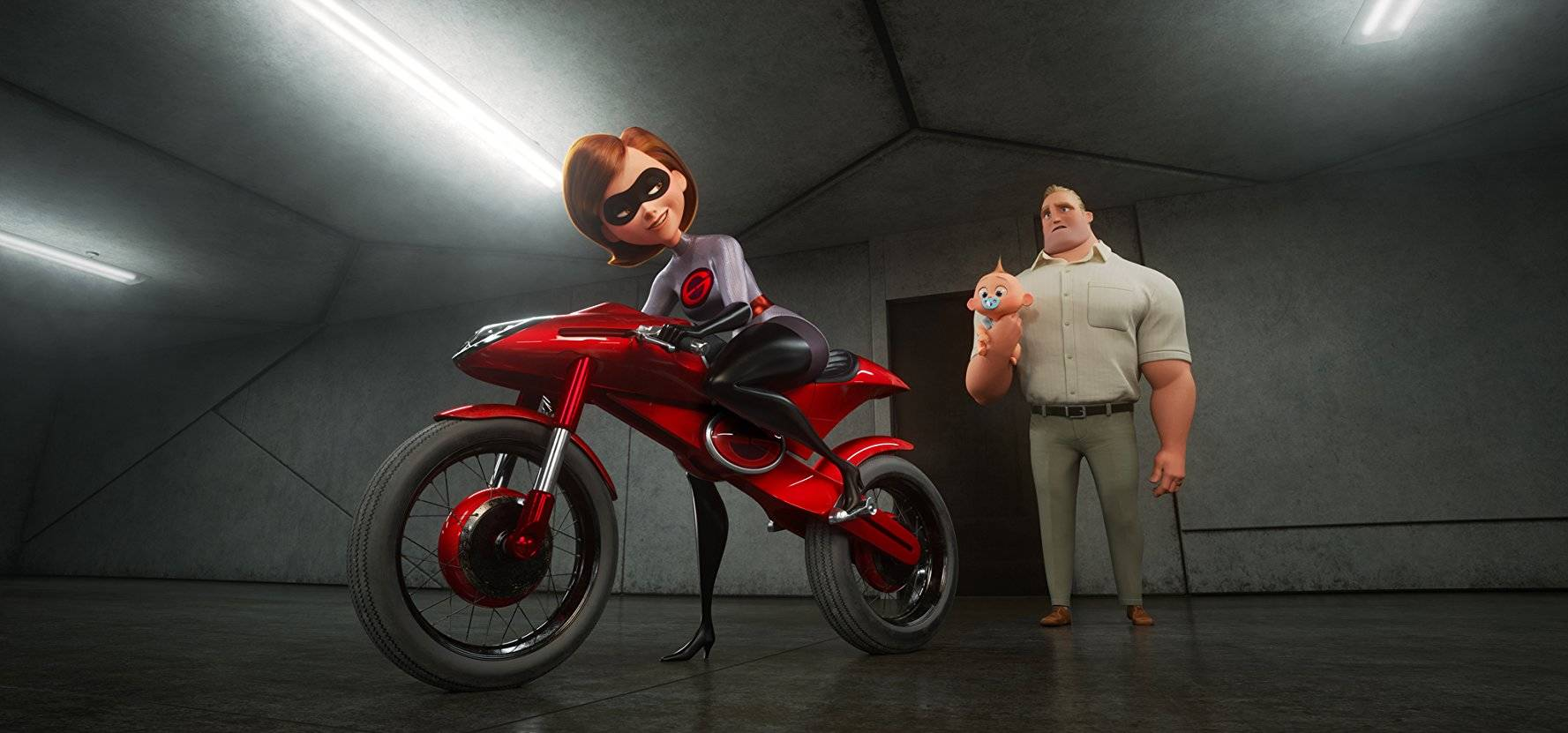 """This film still released by Disney and Pixar shows the Parr family in """"The Incredibles 2."""" (Photo by Disney/Pixar)"""