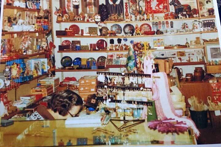 The Scandinavian shop of the author's great-grandma. (Photo provided by Victoria Petersen)