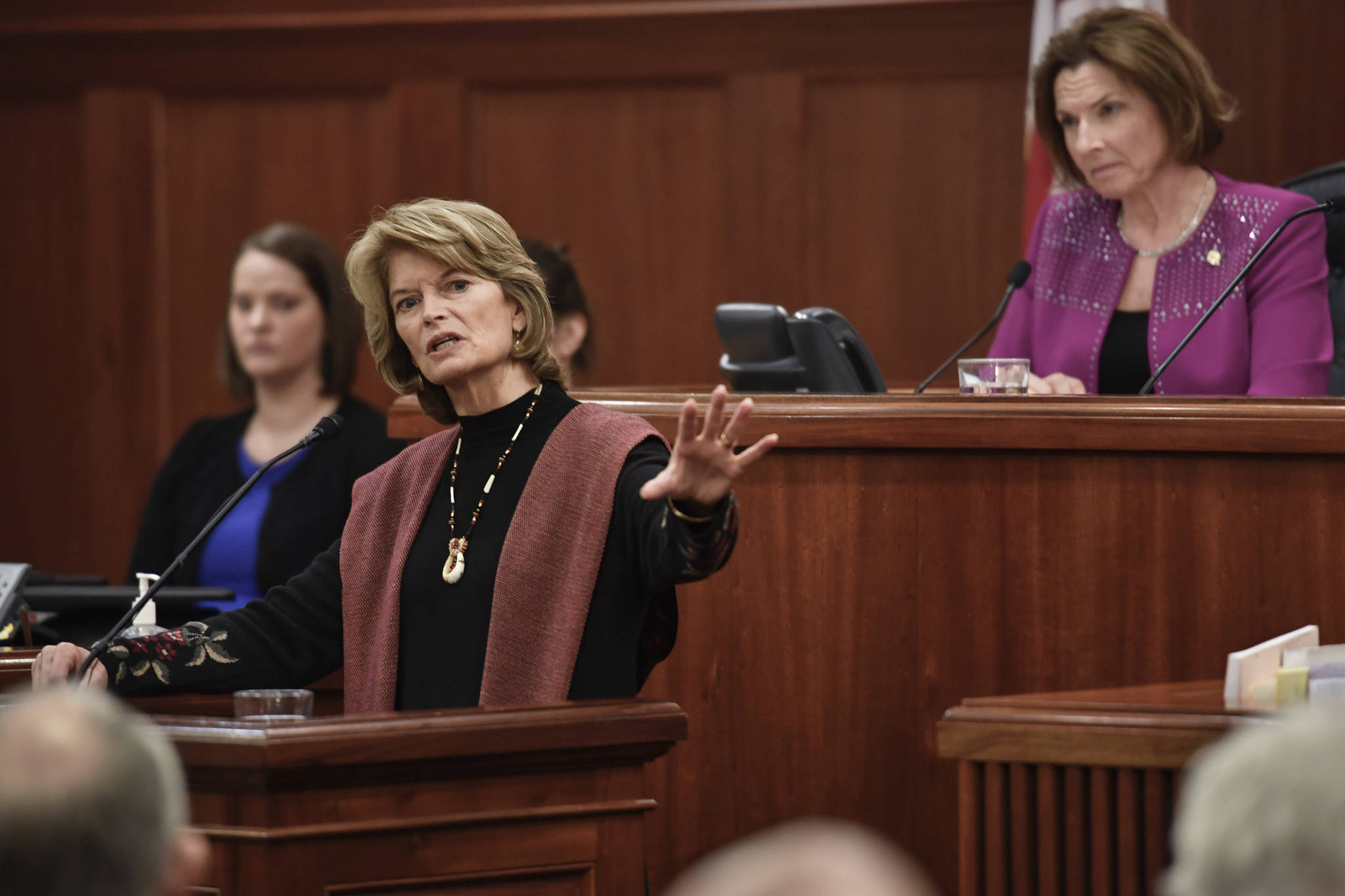 Murkowski critical of Trump's border wall emergency, worries overreach of executive power will become norm