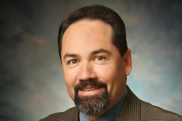 John O'Brien was offered the position of interim superintendent of schools for the Kenai Peninsula Borough School District on Friday, April 5, 2019, in Soldotna, Alaska. (Photo courtesy of the Pegge Erkeneff/Kenai Peninsula Borough School District)