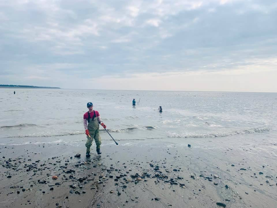 The Jordan family of Seward hit the beaches of Kenai for some dipnetting last week. (Photo courtesy of Christy Jordan)