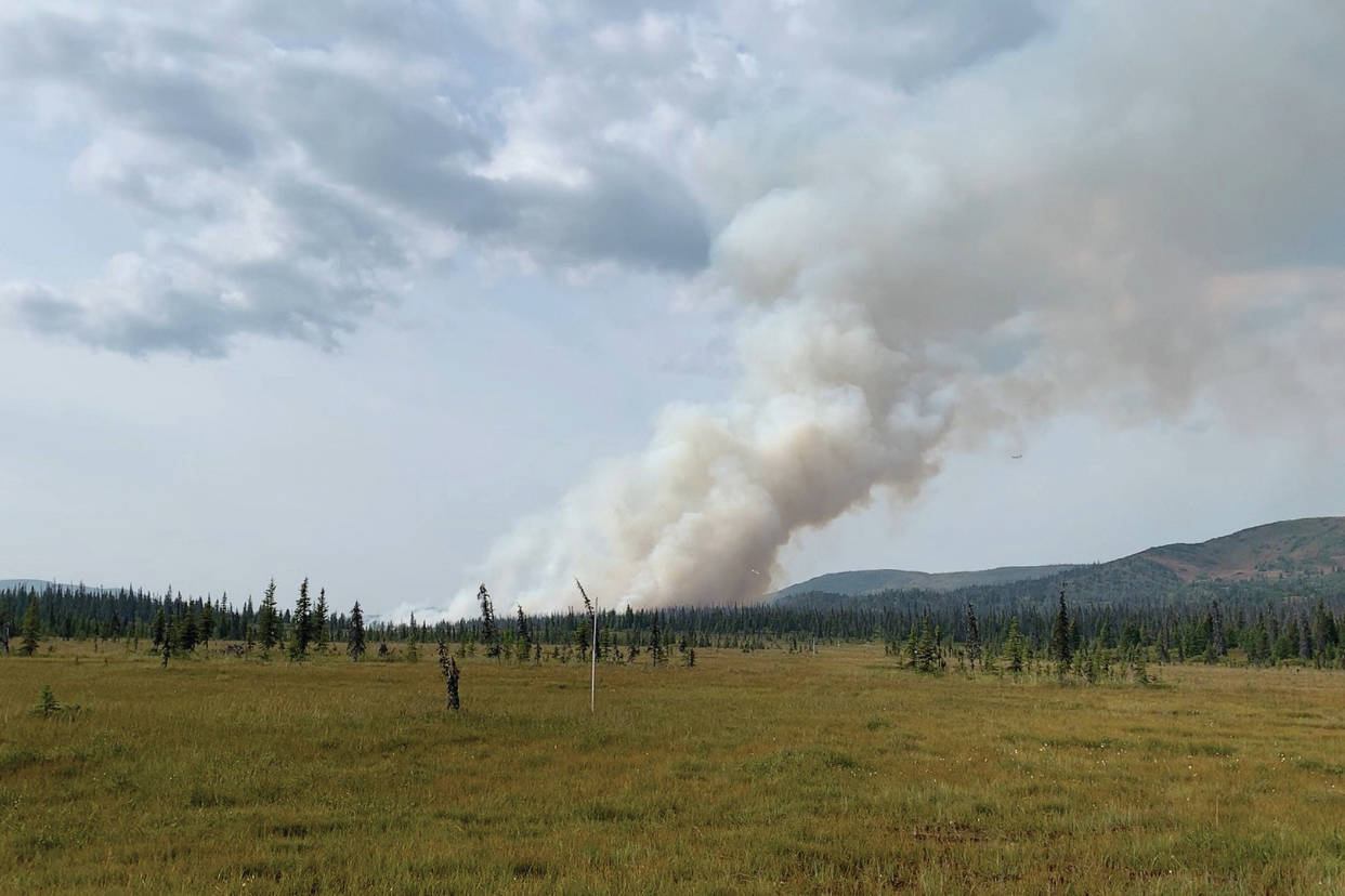 Caribou Lake Fire now at 700 acres; North Fork Fire danger is less