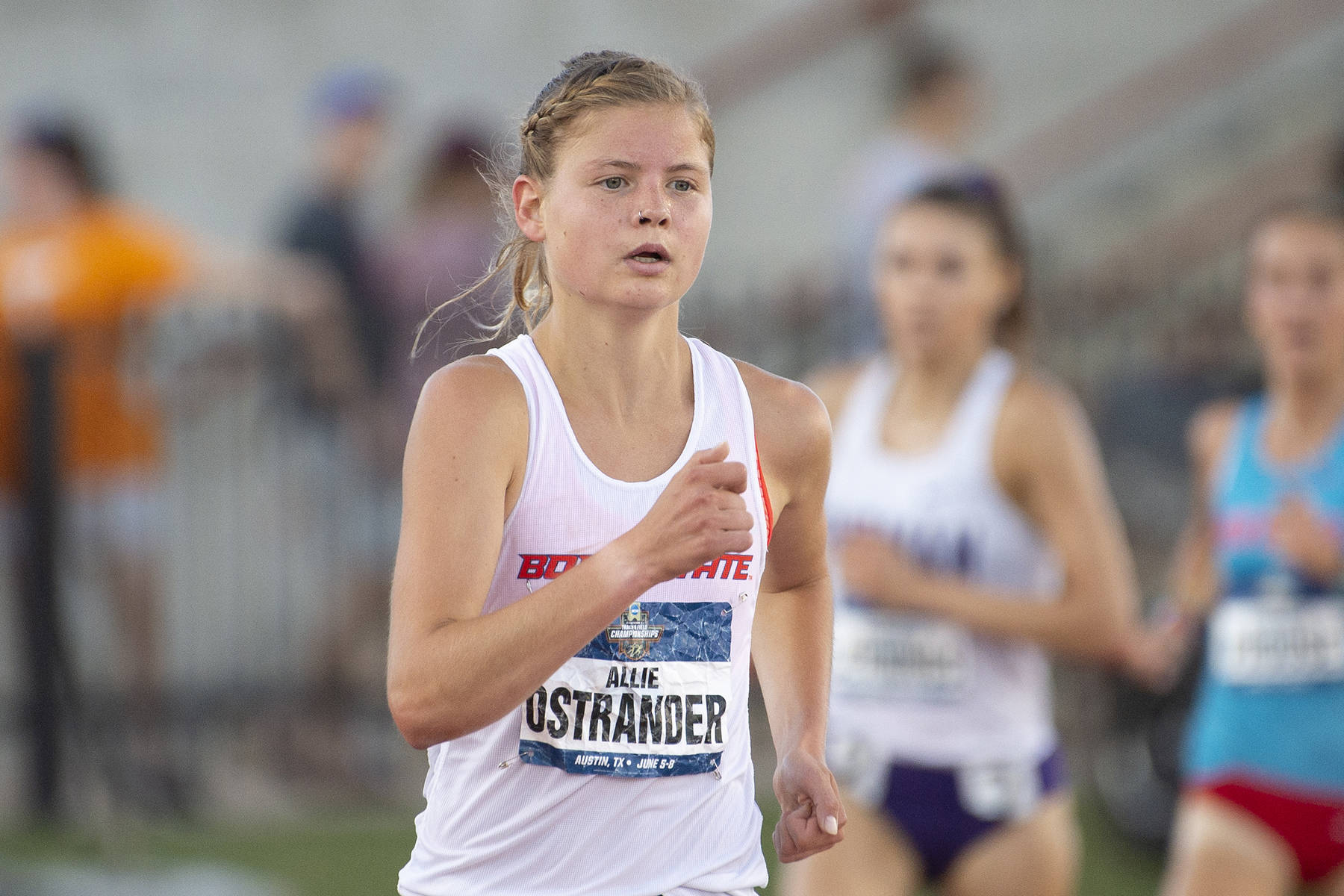 Ostrander ready to take on world at Qatar championships