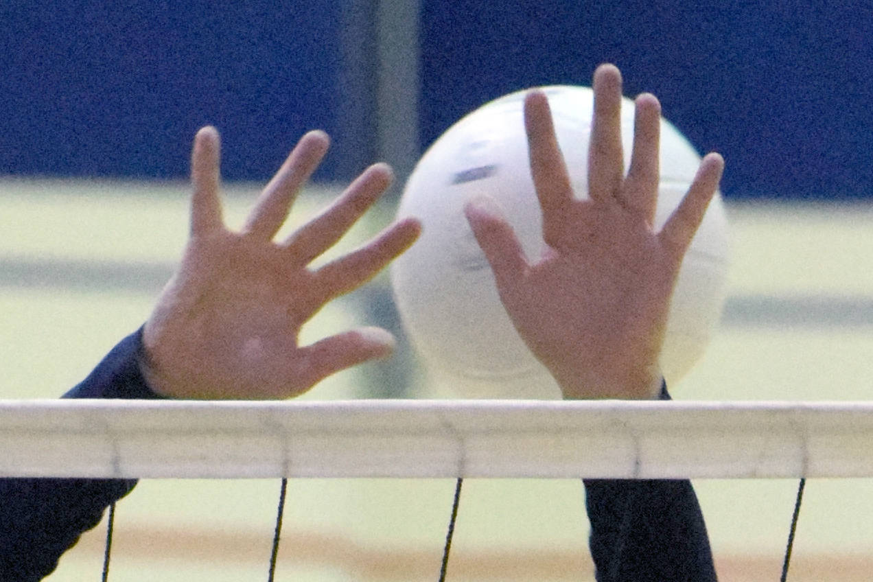 Tangled Up in Blue: Love & Volleyball