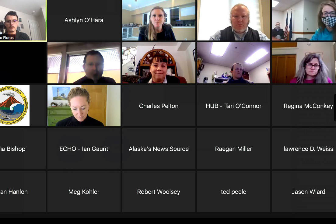 State health officials address members of the media during a remote press conference on Thursday, Feb. 11, 2021. (Screenshot)