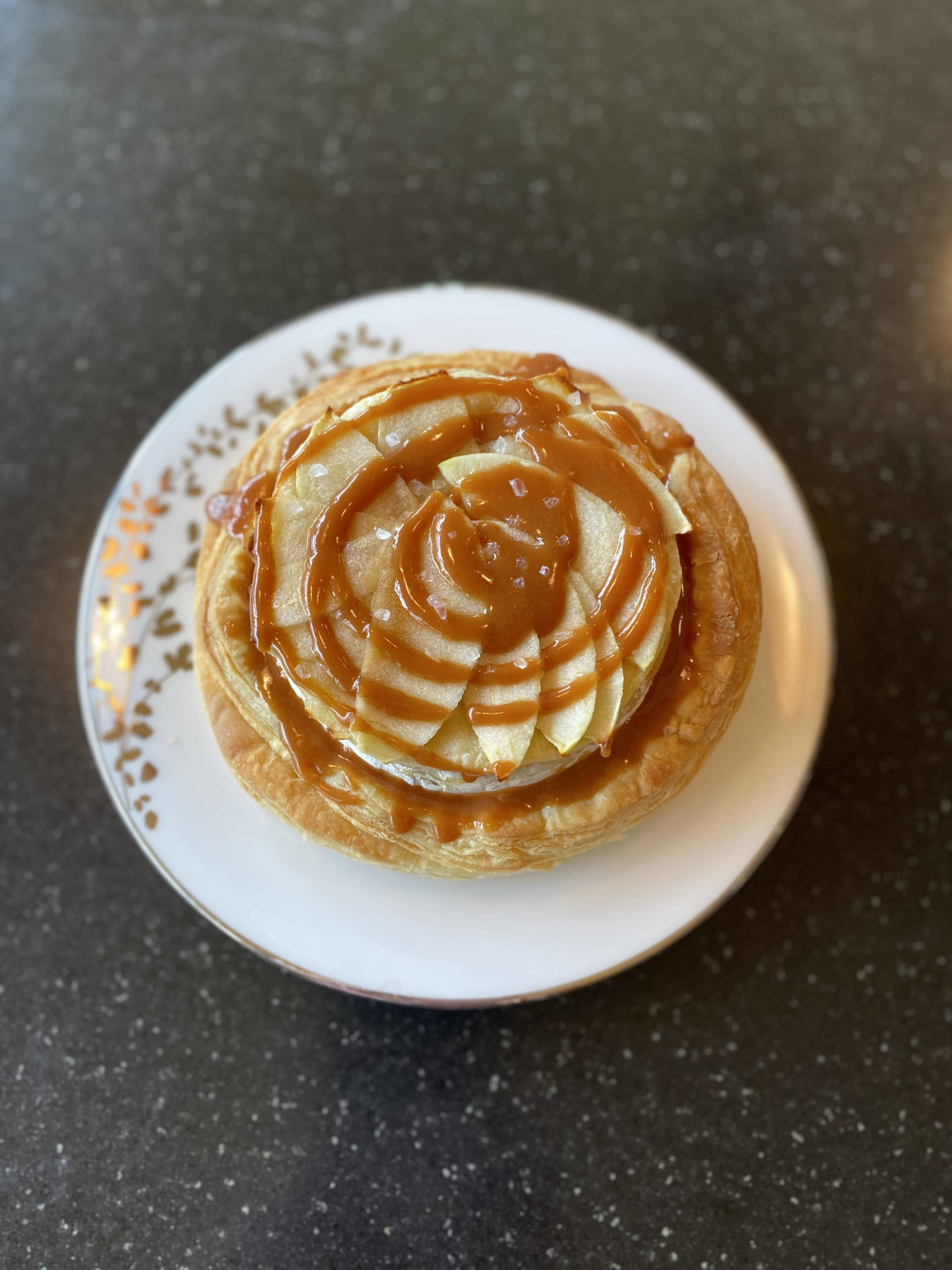 Tressa Dale/Peninsula Clarion Brie and caramel apple voulevant is sure to be a crowd-pleaser.