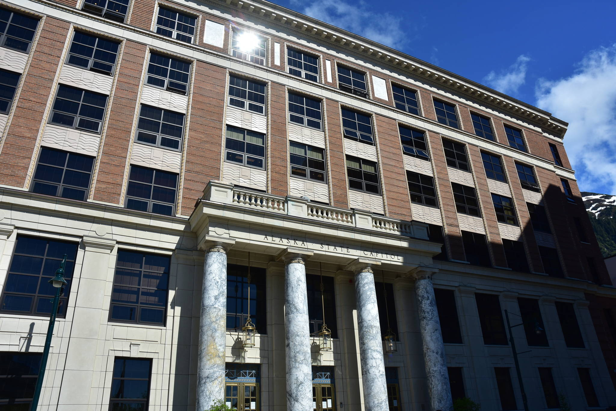 Without a budget to vote on, many lawmakers were absent from the Alaska State Capitol on Monday, June 7, 2021, as negotiations continue in committee. But even the conference committee isn't scheduled until later in the week as deep divisions among lawmakers remain. (Peter Segall / Juneau Empire)