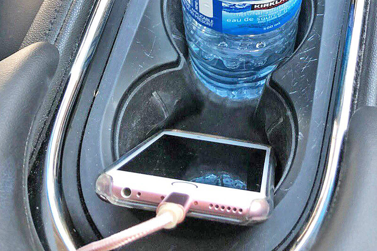 To avoid accidental 911 calls, Kenai Peninsula Borough Office of Emergency advises a number a measures, including not putting smartphones in vehicle cup holders. (File)